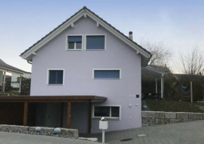 Realisiertes Einfamilienhaus Stampfli Wicki AG