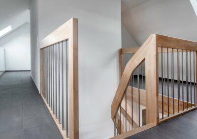 Treppe Mehrfamilienhaus Stampfli Wicki AG