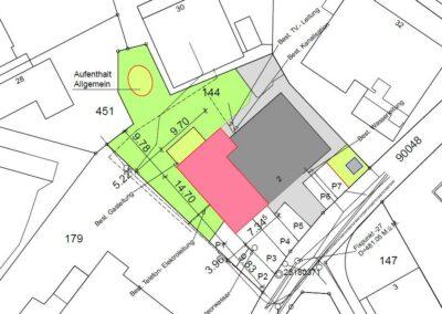 Plan Mehrfamilienhaus Stampfli Wicki AG
