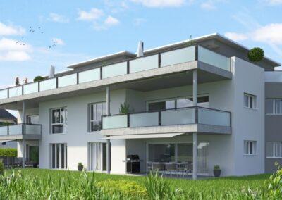 Realisiertes Mehrfamilienhaus Stampfli Wicki AG
