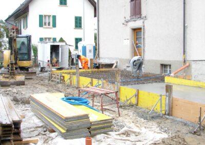 Anbau Einfamilienhaus Stampfli Wicki AG