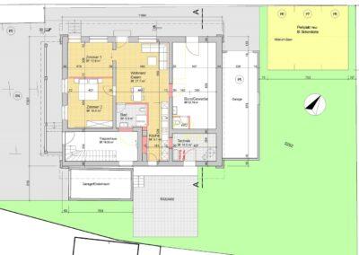 Plan Einfamilienhaus Stampfli Wicki AG