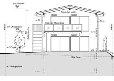 Planung Einfamilienhaus Stampfli Wicki AG