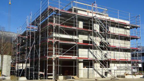 Bau Mehrfamilienhaus Stampfli Wicki AG